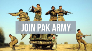 Join Pak Army through PMA long courses as Commissioner Officer