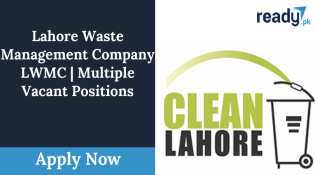 Lahore Waste Management Company Announced April jobs