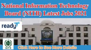 Latest Jobs in National information Technology Board NITB 2021
