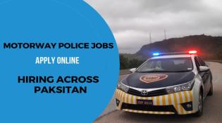 Motorway Police Jobs 2020 Advertisement Apply Online