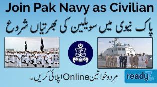 Pakistan Navy Announces Various Job Opportunities in Multiple Cities 2020
