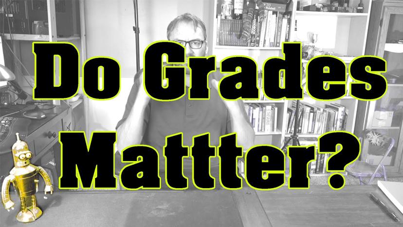 Do grades matter when getting a job?